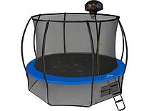 Батут Hasttings Air Game Basketball (3,66 м) с защитной сетью и лестницей