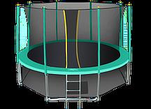Батут Hasttings Classic Green 14ft (4,26 м) с сеткой и лестницей