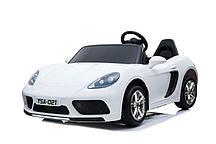 Электромобиль Barty Porshe Cayman YSA021 (Белый)