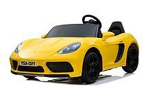 Электромобиль Barty Porshe Cayman YSA021 (Желтый глянец)