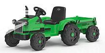 Трактор с прицепом Barty TR 55 (Зеленый)
