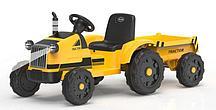 Трактор с прицепом Barty TR 55 (Желтый)