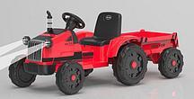 Трактор с прицепом Barty TR 55 (Красный)