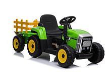 Трактор с прицепом Barty TR 77 (Зеленый)