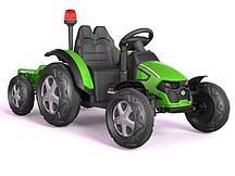 Трактор с прицепом Barty TR 99 (Зеленый)