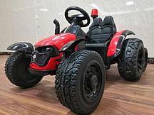 Трактор с прицепом Barty TR 99 (Красный)
