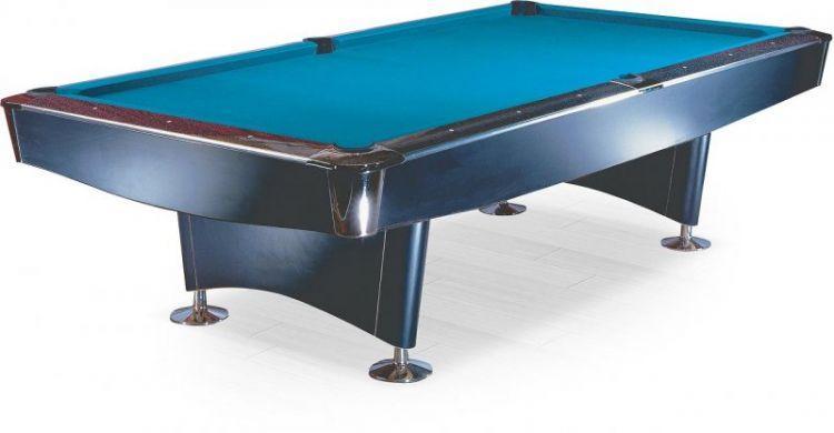 Бильярдный стол для пула Weekend Reno 8 ф (черный)