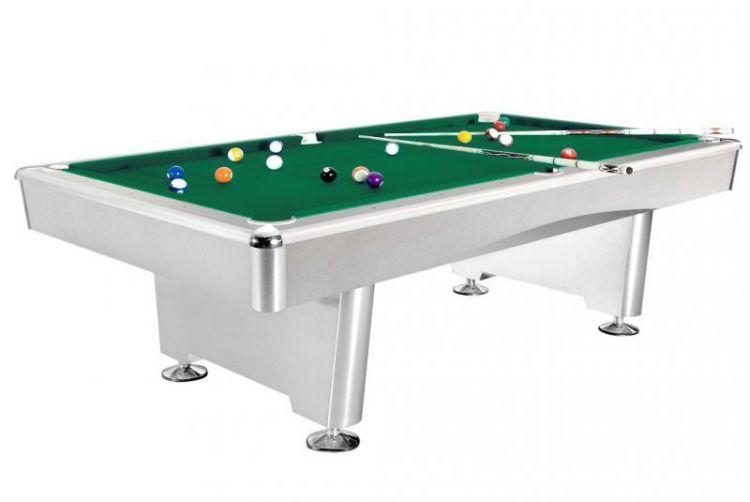 Бильярдный стол для пула Weekend Dynamic Triumph 7 ф (матово-белый)