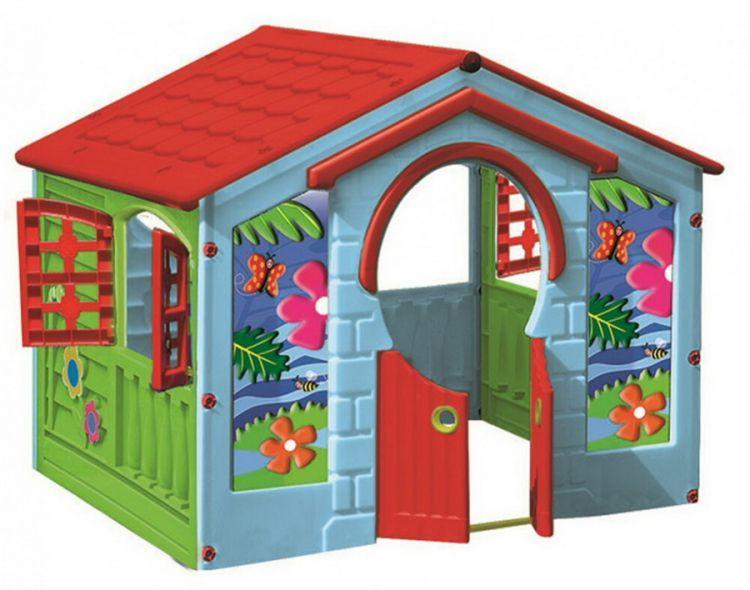 Детский пластиковый домик «Домик деревенский» Marian Plast 570