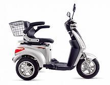 Электроскутер Volteco Trike New (Серебро)