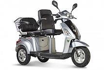 Электроскутер Volteco Trike L New (Серебро)