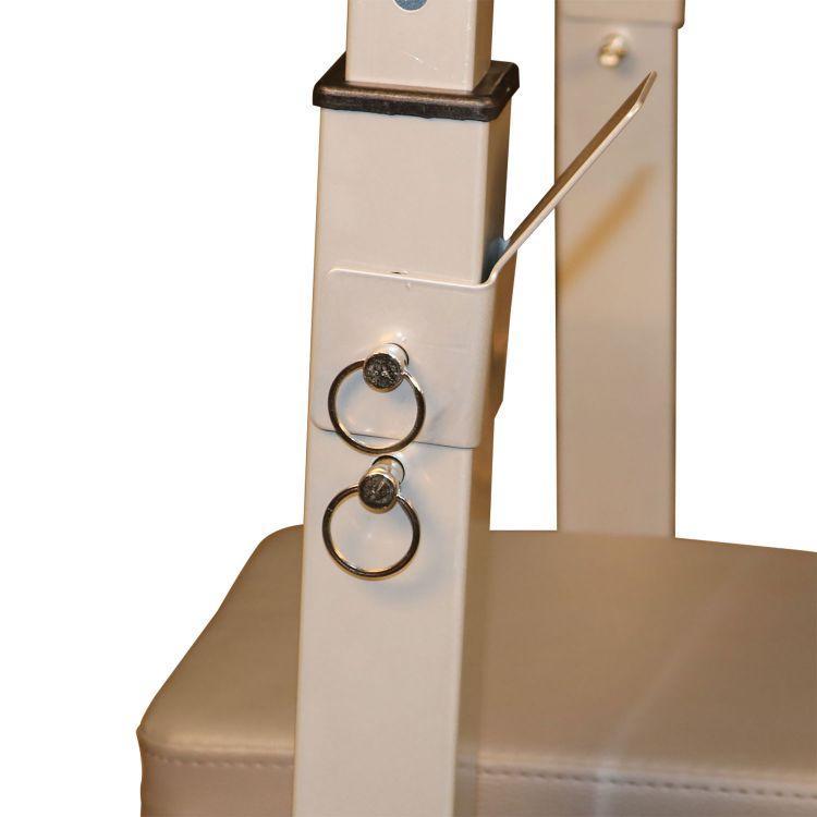 Скамья со стойками под штангу DFC складная DKF01 - фото 7
