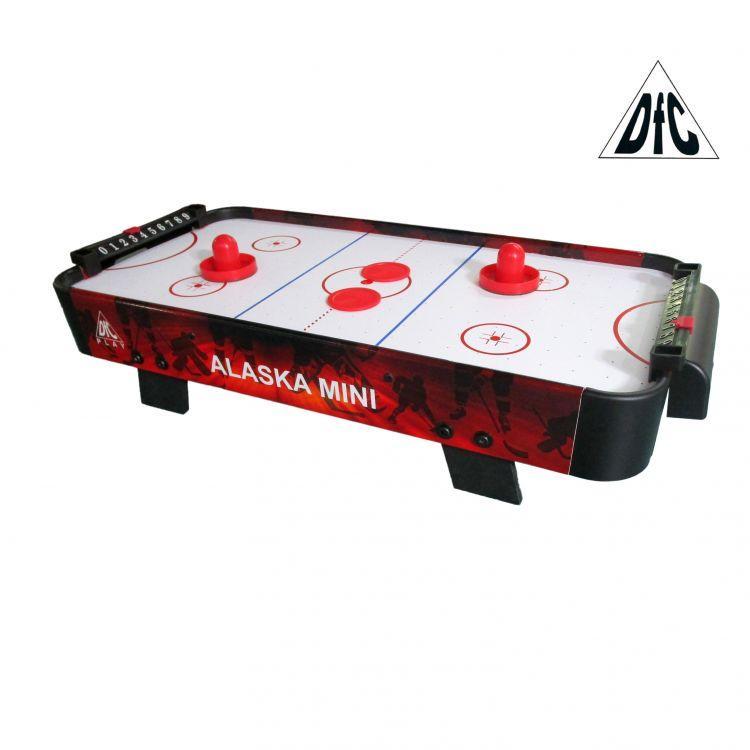 Игровой стол аэрохоккей DFC Alaska Mini