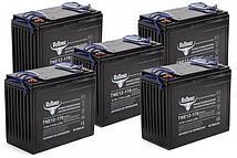 Комплект тяговых гелевых аккумуляторов RuTrike TNE 12-170 (12V135A/H C3)