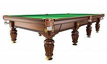 Бильярдный стол для русского бильярда Weekend Dynamic Noble 12 ф (орех)