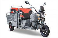 Грузовой электрический трицикл Rutrike Вояж-П 1200 Трансформер 60V800W (Серебристый)