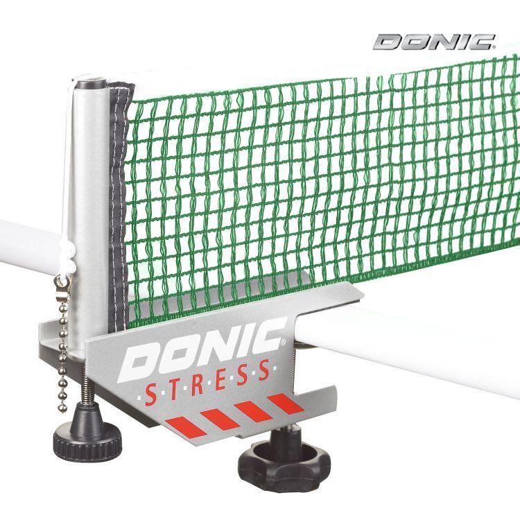 Сетка с креплением Donic Stress серый/зелёный