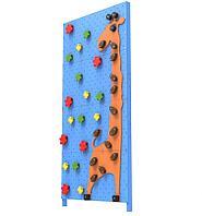 Детский скалодром Жираф (ширина 1,2 метра) (Голубой)