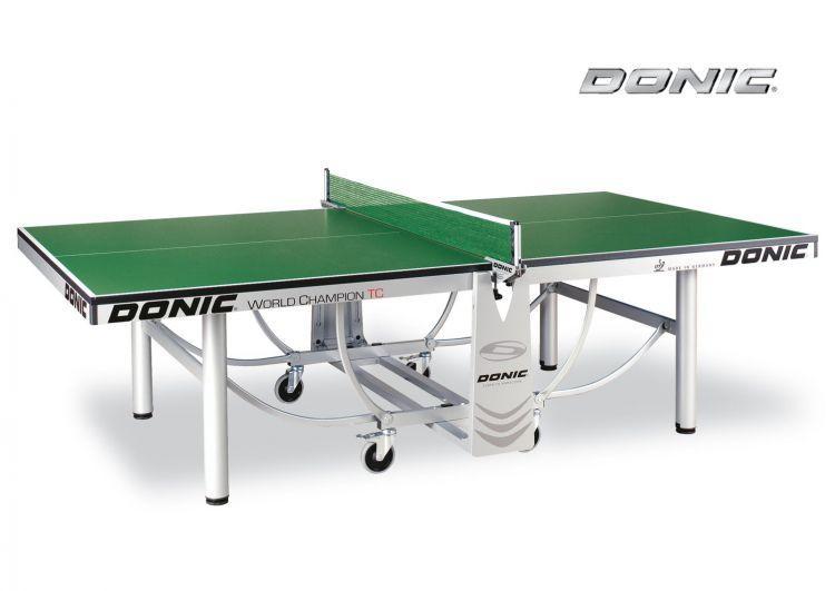 Профессиональный теннисный стол Donic World Champion TC зелёный