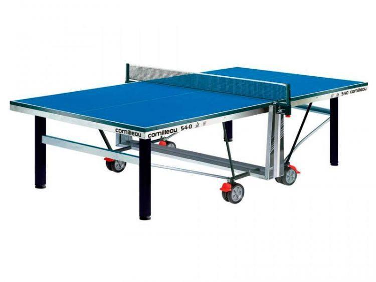 Теннисный стол профессиональный Cornilleau Competition 540 W ITTF синий