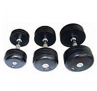 Гантельный ряд обрезиненный Dayu Fitness DB-181-1 (52,5-60кг)