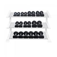 Гантельный ряд полиуретановый Body Solid (5-50 lb)