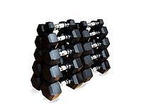 Гантельный ряд гексагональный Original FitTools (1-25кг)