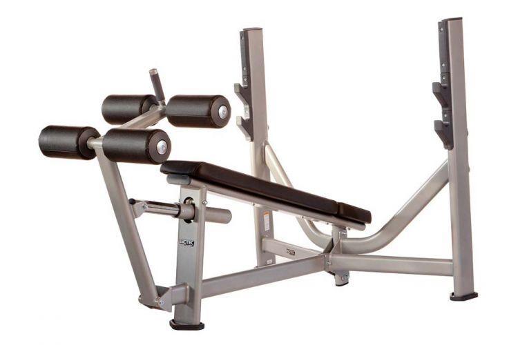 Олимпийская скамья с отрицательным наклоном Inotec Е36