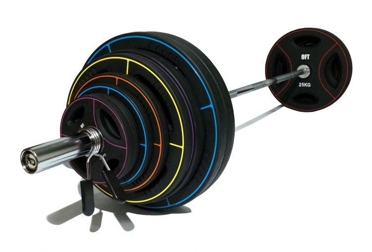Диск олимпийский полиуретановый Original FitTools (5 кг)