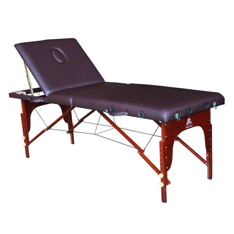 Складной массажный стол DFC Nirvana Relax Pro (коричневый)