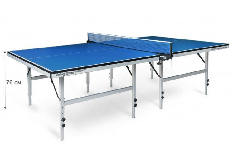 Теннисный стол Start Line Training Optima без сетки (Синий)