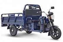 Грузовой электротрический трицикл Rutrike D4 1800 60V1200W (Синий)