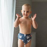 Многоразовые подгузники для плавания Teddy Размер L Обхват талии 50-58 см,Обхват ножки 32 см