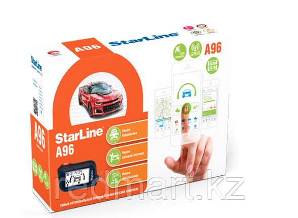 Автосигнализация StarLine A96 BT 2CAN-2LIN GSM - фото 1