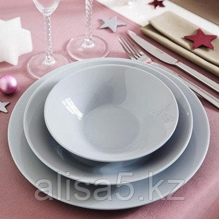 ALIZEE GRANIT GREY столовый сервиз на 6 персон из 19 предметов, шт