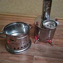 Самовар на дровах Турецкий 8л., фото 3
