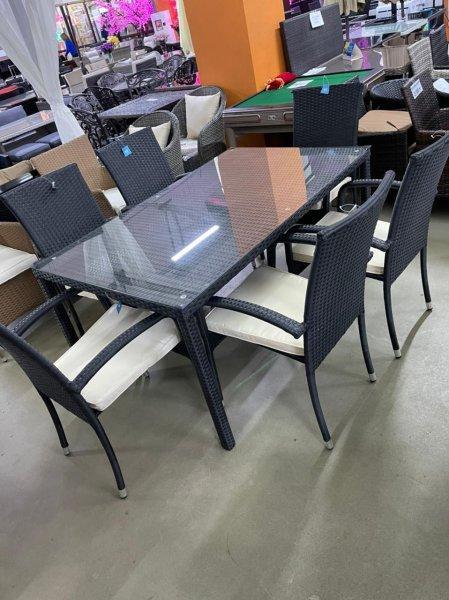 Комплект мебели Land ( 1 стол + 6 стулья )
