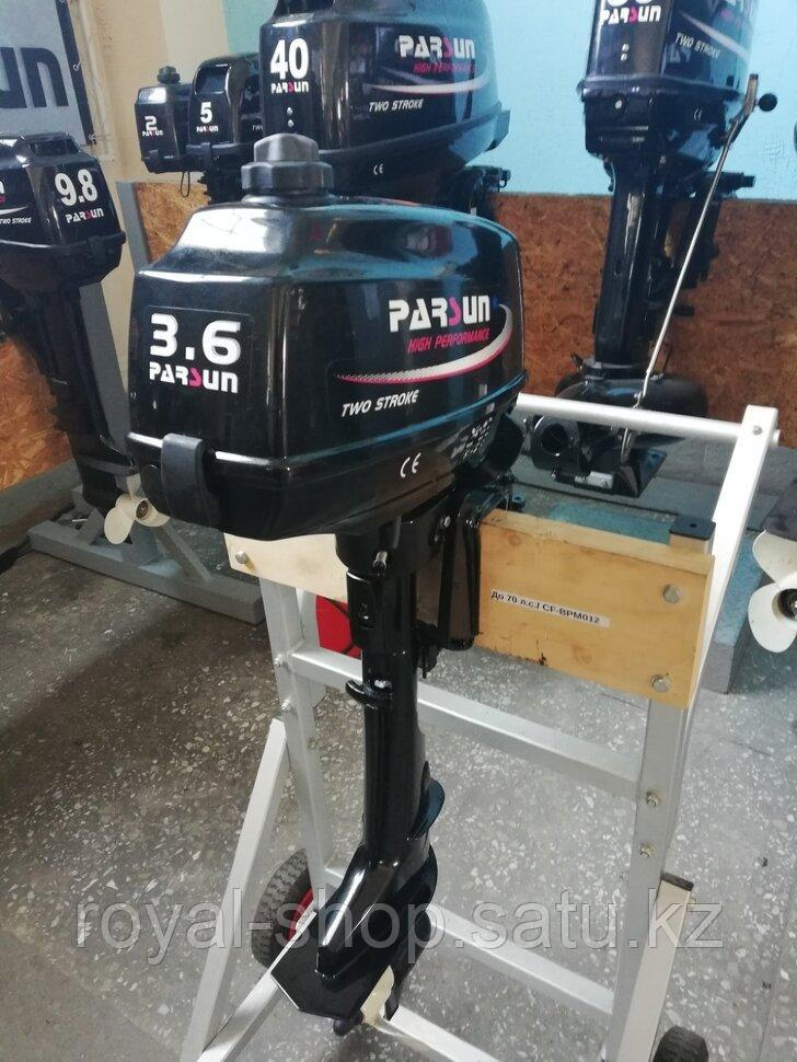 Лодочный мотор Parsun T3.6BMS - фото 4