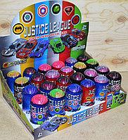 750-2 Мстители машинки в капсуле 24шт в уп.,цена за 1шт 10*4см