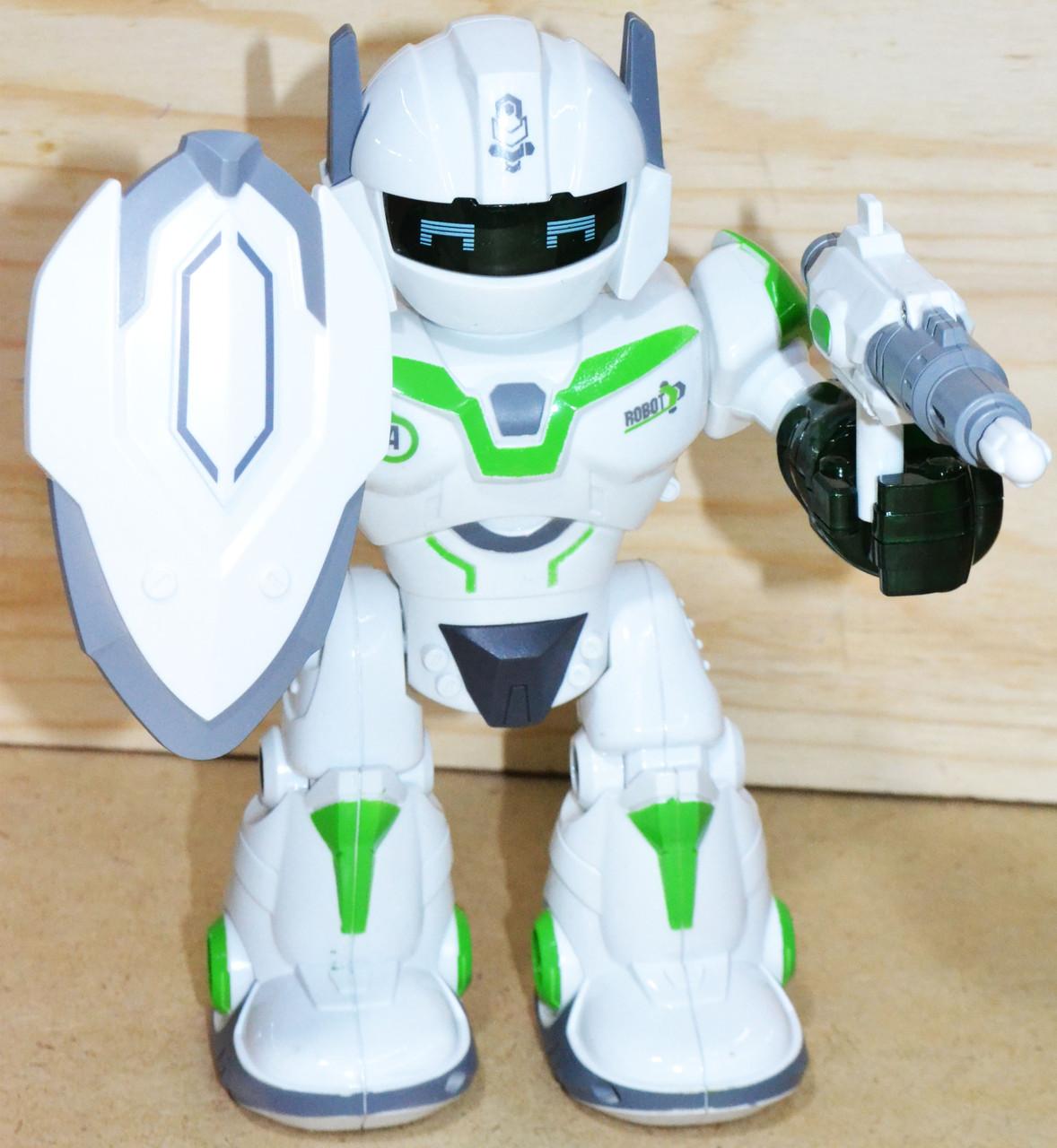 605 Coolman Робот защитник (звук, свет) 24*23см