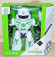 605 Coolman Робот защитник (звук, свет) 24*23см, фото 2