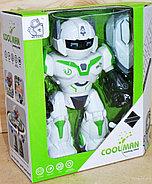 605 Coolman Робот защитник (звук, свет) 24*23см, фото 3