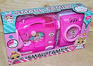 DN2021C-LO Бытовая техника Small family швейная и стиральная на батар 2в1, 33*18см, фото 2