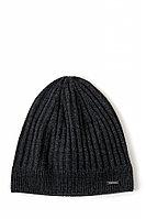 Шапка мужская Finn Flare, цвет темно-серый, размер 58
