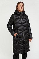 Пальто женское Finn Flare, цвет черный, размер L