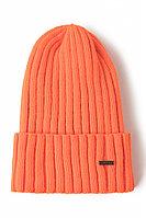 Шапка мужская Finn Flare, цвет ginger (оранжевый), размер 58