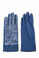 Перчатки женские Finn Flare, цвет голубой, размер
