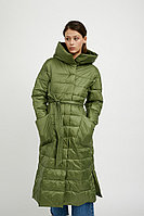 Пальто женское Finn Flare, цвет хаки, размер 2XL