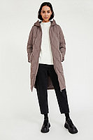 Пальто женское Finn Flare, цвет коричневый, размер XS