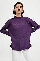 Джемпер женский Finn Flare, цвет фиолетовый, размер L